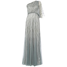 Buy Raishma One Shoulder Gown, Slate Online at johnlewis.com