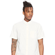 Buy Denim & Supply Ralph Lauren Classic Short Sleeve Shirt, White Online at johnlewis.com