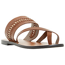 Buy Dune Laken Slip-On Flat Sandals Online at johnlewis.com