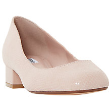 Buy Dune Alanah Block Heeled Court Shoes Online at johnlewis.com