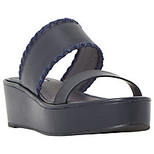 Buy Dune Kryptic Flatform Sandals Online at johnlewis.com