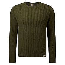 Buy Carhartt WIP Rib Jumper, Cypress Heather Online at johnlewis.com