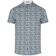 Buy Ted Baker Leafit Leaf Print Cotton Shirt Online at johnlewis.com