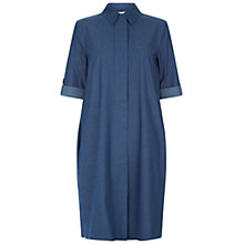Buy Hobbs Rosalind Tunic Dress, Blue Online at johnlewis.com