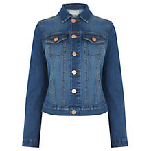 Buy Oasis Harley Denim Jacket, Blue Online at johnlewis.com