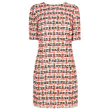 Buy L.K. Bennett Echo Tweed Dress, Orange Online at johnlewis.com