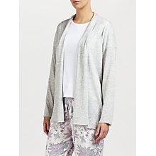 Buy John Lewis Shawl Collar Cardigan, Grey Online at johnlewis.com
