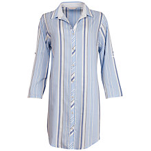 Buy Cyberjammies Porcelain Doll Stripe Nightshirt, Blue/Multi Online at johnlewis.com