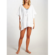 Buy Seafolly Crochet Trim Kaftan Online at johnlewis.com