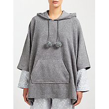 Buy John Lewis Olivia Poncho Top, Grey Online at johnlewis.com