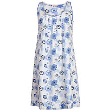 Buy Cyberjammies Porcelain Doll Floral Chemise, Blue/Multi Online at johnlewis.com