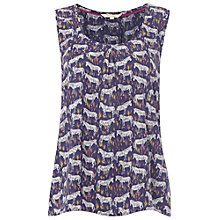 Buy White Stuff Zebra Vest, Oceania Blue Online at johnlewis.com