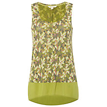 Buy White Stuff Ariba Bird Print Vest Online at johnlewis.com