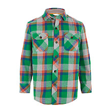 Buy John Lewis Boys' Melange Check Shirt Online at johnlewis.com