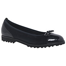 Buy Gabor Temptation Wide Fit Cleated Pumps, Ocean Online at johnlewis.com