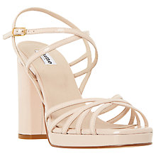 Buy Dune Magdalane Crossover High Sandals Online at johnlewis.com