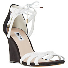 Buy Dune Madge Lace Up Wedge Heeled Sandals Online at johnlewis.com
