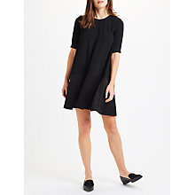 Buy Marella Fresia Relaxed Fit Dress, Black Online at johnlewis.com
