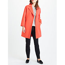 Buy Marella Abitata Wool Cashmere Coat, Salmon Online at johnlewis.com