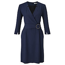 Buy Marella Nodo Belted Dress, Navy Online at johnlewis.com