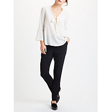 Buy Marella Knut Slim Trousers, Black Online at johnlewis.com