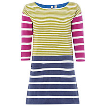 Buy White Stuff Tropicana Stripe Tunic Top, Multi Online at johnlewis.com