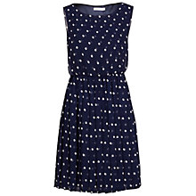 Buy Gina Bacconi Chiffon Spot Short Dress Online at johnlewis.com