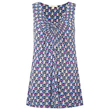 Buy White Stuff Portrait Jersey Vest, Oceania Blue Online at johnlewis.com
