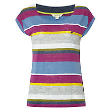 Buy White Stuff Betsy Multi Stripe T-Shirt Online at johnlewis.com