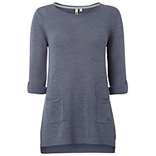 Buy White Stuff Barnie Tunic Top, Navy Online at johnlewis.com