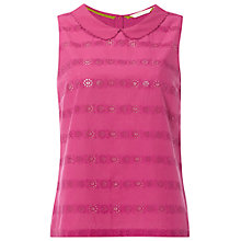Buy White Stuff Daisy Chain Vest, Pink Online at johnlewis.com