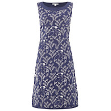 Buy White Stuff Mexicana Embellished Dress, Oceania Blue Online at johnlewis.com