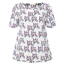Buy White Stuff Jersey Cactus Top, Linen Cream Online at johnlewis.com