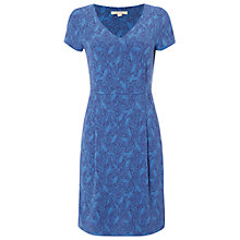 Buy White Stuff La Cucaracha Jersey Dress, Oceania Blue Online at johnlewis.com
