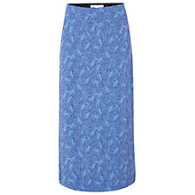 Buy White Stuff La Cucaracha Maxi Jersey Skirt, Ocean Blue Online at johnlewis.com