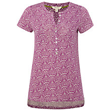 Buy White Stuff Gabriella Linen Shirt, Mexican Purple Online at johnlewis.com