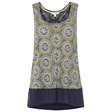 Buy White Stuff Kahlo Jersey Vest, Pickle Green Online at johnlewis.com