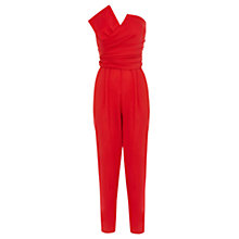 Buy Coast Prue Jumpsuit, Red Online at johnlewis.com