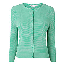 Buy L.K. Bennett Thea Mini Striped Cardigan Online at johnlewis.com