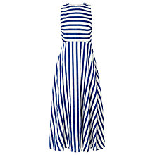 Buy L.K. Bennett Harpa Striped Dress, Blue/White Online at johnlewis.com