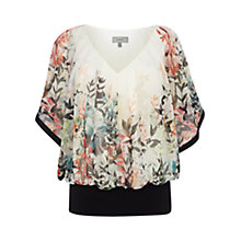 Buy Coast Sassori Print Calla Top, Multi Online at johnlewis.com