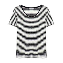Buy Gerard Darel Clifford T-Shirt, Midnight Blue Online at johnlewis.com