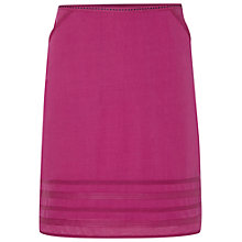 Buy White Stuff High Grove Linen Skirt, Mexican Purple Online at johnlewis.com