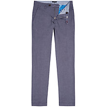 Buy Ted Baker Fivechi Trousers, Deep Purple Online at johnlewis.com