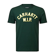 Buy Carhartt USS Script T-shirt, Conifer Online at johnlewis.com