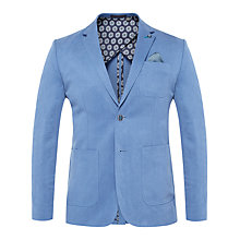 Buy Ted Baker Onetwos Linen Jacket, Blue Online at johnlewis.com