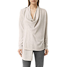 Buy AllSaints Drina Striped Cardigan Online at johnlewis.com