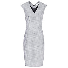 Buy Reiss Remi Tailored Dress, Grey/Blue Online at johnlewis.com