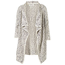 Buy Fat Face Textured Waterfall Cardigan Online at johnlewis.com