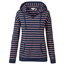 Buy Fat Face Southsea Stripe Hoodie, Navy Online at johnlewis.com